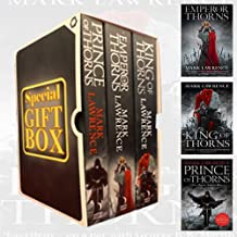 Mark Lawrence Collection Broken Empire Series (1 to 3) 3 Books Bundles (Prince of Thorns,King of Thorns,Emperor of Thorns)