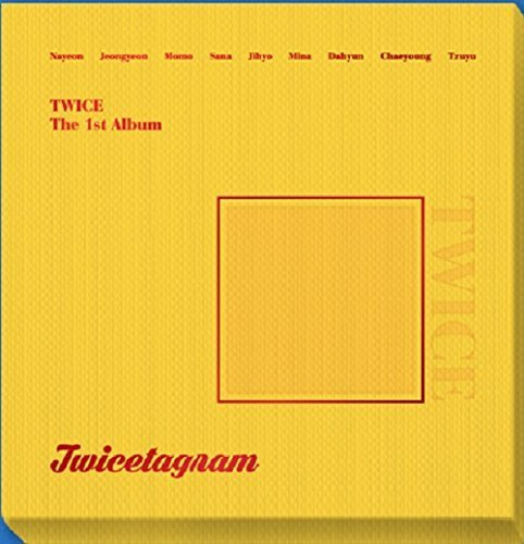 JYP Entertainment Twice - Twicetagram (Vol.1) [B Matte ver.] CD+3 Photocard+Sticker+Extra Photocard Set