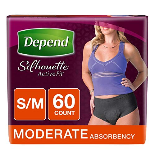 Product of Depend Silhouette Active Fit Incontinence Underwear for Women with Mo