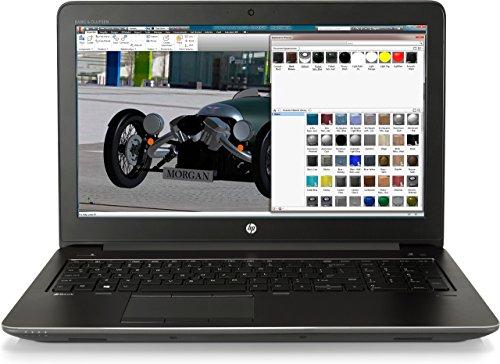 HP ZBook 15 G4 2.8GHz i7-7700HQ Intel Core i7 de séptima generación 15.6' 1920 x 1080Pixel Negro estación de trabajo móvil (reacondicionado)