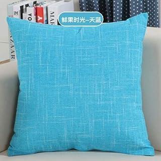 YYBF Sólido sofá Cintura cojín Almohada Decorada Tirante Almohada para el hogar 30 cm y 50 cm 01