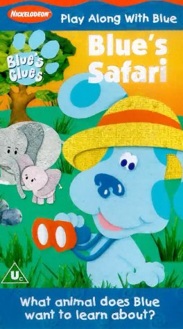 Blue's Clues - Blue's Safari [VHS] [UK Import]