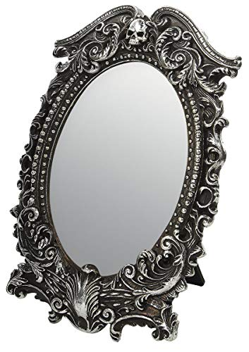 Alchemy Gothic Masque of The Black Rose Decorative Article Table Mirror - Standard