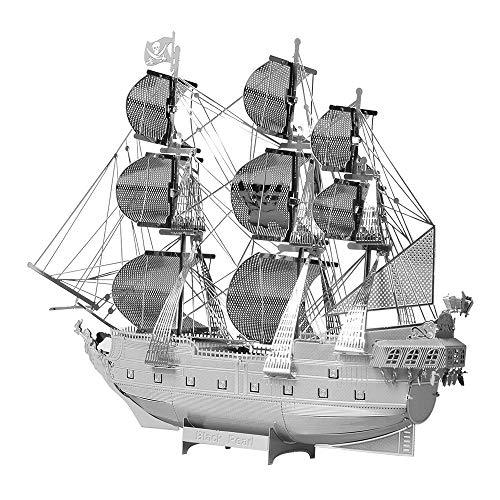 Piececool 3D Metal Model Kits-Black Pearl Pirate...