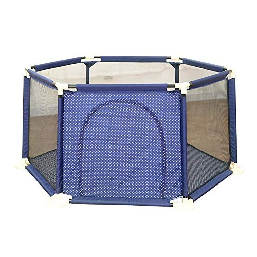ZTMN Baby Fence Baby Activity Center Indoor Child Playard Portable Child Safety Clôture Child Protection (Size: 150x65.5cm)
