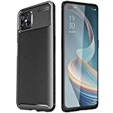 TECHGEAR Carbon Fibre Case for Oppo Reno4 Z (Reno 4Z) 5G