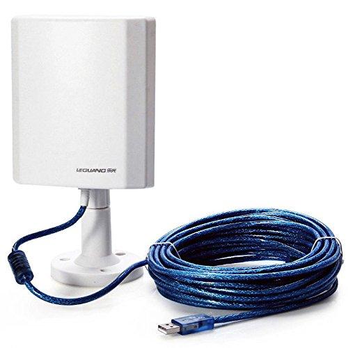 Antena WiFi de Exterior de Largo Alcance USB 150 Mbps con Adaptador Inalámbrico LEGUANG N100