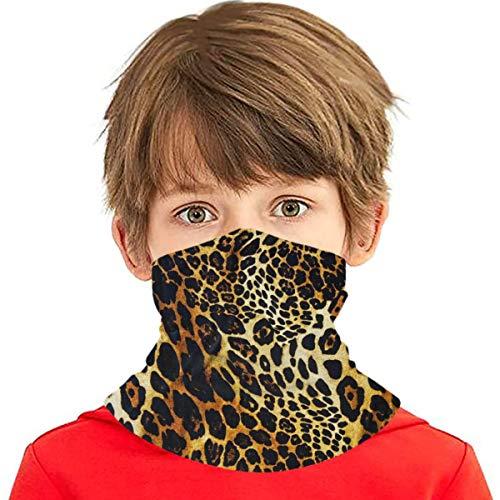 best gift Scaldacollo per Bambini Bandana Leopard Ripetendo Ghepardo Arancione varietà per Bambini Asciugamano Passamontagna Sciarpa Cappuccio