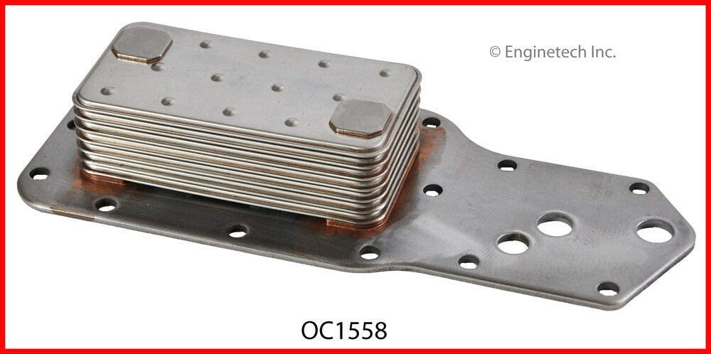 Super beauty product Ranking TOP12 restock quality top ENGINETECH OC1558 7 PLATE STAINLESS COOLER STEEL OIL compatible