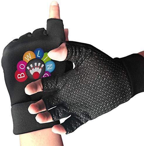 Licht Saber Dun Handschoenen voor halfvinger en fietsen, bowling, drukoefening, handschoenen voor gym, gewichtheffen, training, fitning, biking