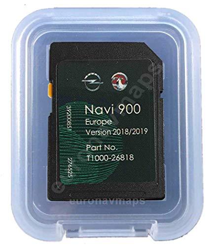SD Karte GPS Opel NAVI600 NAVI900 Europe 2018/2019 - T1000-26818