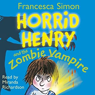 Horrid Henry and the Zombie Vampire audiobook cover art