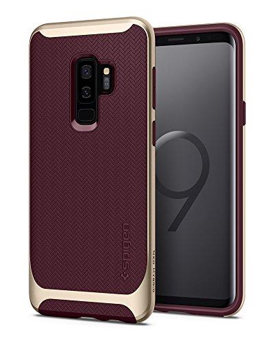 Spigen Cover Neo Hybrid Compatibile con Samsung Galaxy S9 Plus - Burgundy