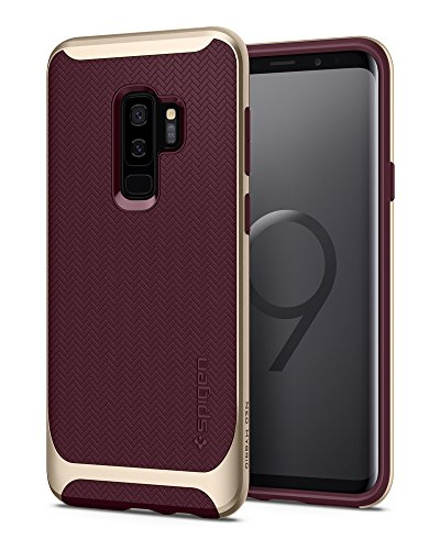 Spigen® [Neo Hybrid] Galaxy S9 Plus Case with Flexible Herringbone...