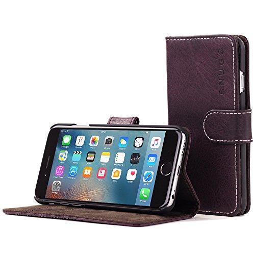 Snugg Cover iPhone 6 Plus e 6S Plus, Apple iPhone 6 Plus e 6S Plus Flip Custodia Case [Slot per Schede] Pelle Portafoglio Progettazione Esecutiva [Garantita a Vita] - Ametista, Legacy Range
