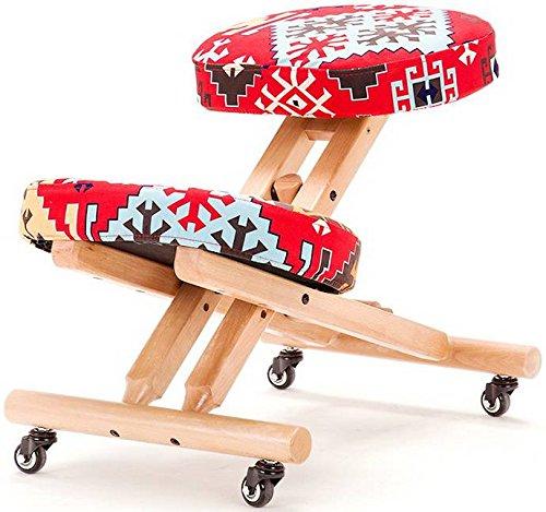 Bezug für ergonomischen Kniestuhl, Schneeflocken