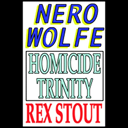 Homicide Trinity  audiobook cover art