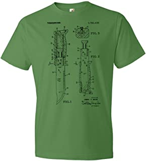 Survival Knife T-Shirt, Camping Gift, Military Tee, Soldier Gift, Knife Apparel