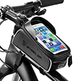 PLAY HARD Bike Front Frame Bag Cycling Waterproof Top Tube Frame Pannier Mobile Phone Touch Screen Holder Bike Bag Fits Phones Below 6.0 Inches waterproof case for i phone Nov, 2020