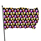 maichengxuan Bandera 3 x 5 ft Aliens Among Us Home Decoration Durable Polyester for Outdoor/Indoor/Garden