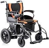 Yuzhonghua Pliegue discapacitados ancianos;Premium Travel plegable silla de ruedas eléctrica, la línea aérea ha sido aprobada, ligero, todo terreno scooters eléctricos for todas las edades con dos mot
