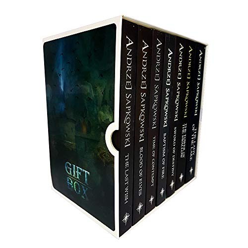 Andrzej Sapkowski Witcher Series Collection 7 Books Set Titles in the Set The Last Wish, Sword of Destiny, Blood of Elves, Time of Contempt, Baptism of Fire, The Tower of the Swallow, The Lady of the Laketion.
