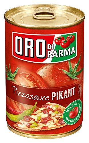 ORO di Parma Pizza Sauce pikant, 6er Pack (6 x 425 ml Dose)