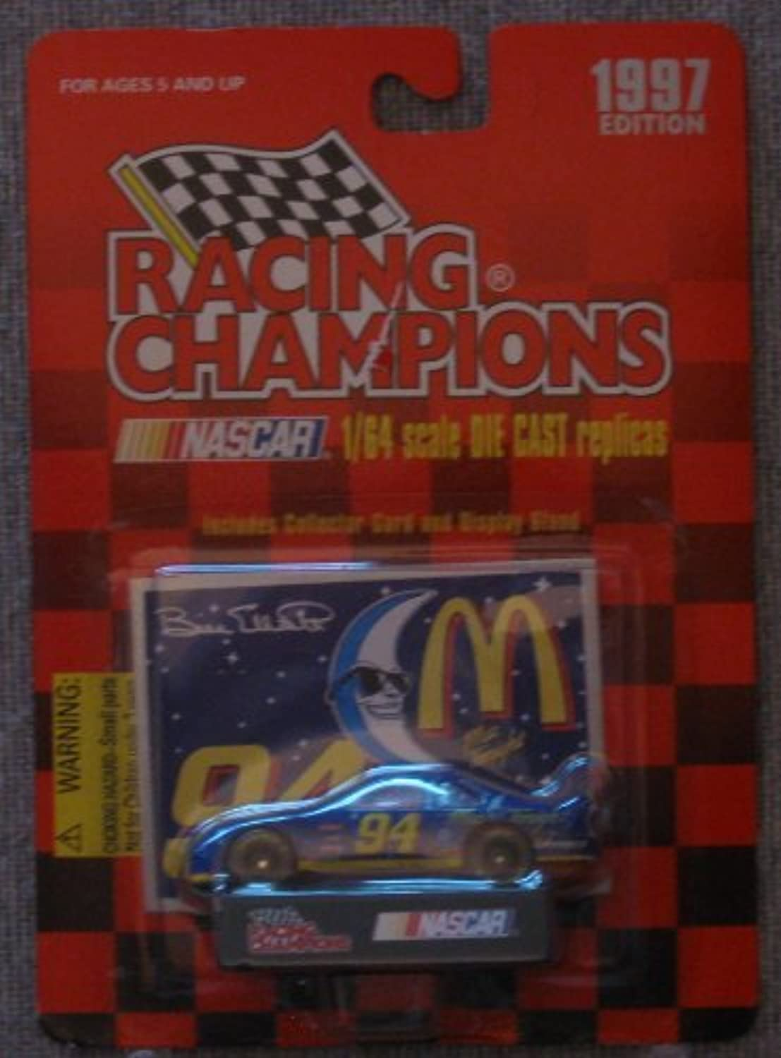 NASCAR  94 Bill Elliott Mac Tonight Racing Champions 1 64 Scale Car by Racing Champions