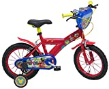 "DENVER BIKE 13195 Denver ''14"" Disney Mickey Mouse'' Bike, Multi Colour"