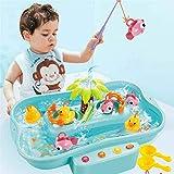 MARKS Juego de Pesca de Pesca de Pato de niños Juego de Pes