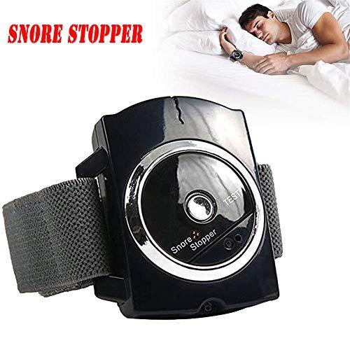 Hzlsy Anti Snore Wrist, Aid Anti-Snore-Stopper-Armbandgerät Intelligenter Biofeedback-Sensor Stop Snoring Watch