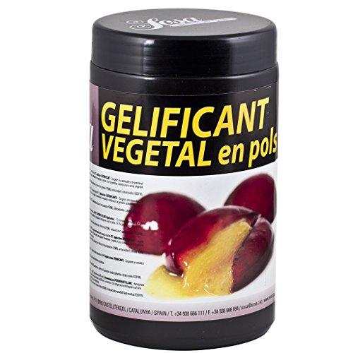 Sosa Pflanzliche Gelatine (vegetarisches Pulver), 500g