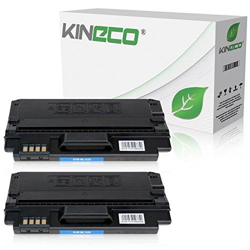 2 Toner kompatibel zu Samsung ML-1630, MLD-1630A/ELS ML-1630W SCX-4500W - Schwarz je 3.000 Seiten