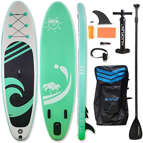 Premium Inflatable Stand Up Paddle Board 10 6 32 6 Ultra Light Standing Boat for Youth Adult product image