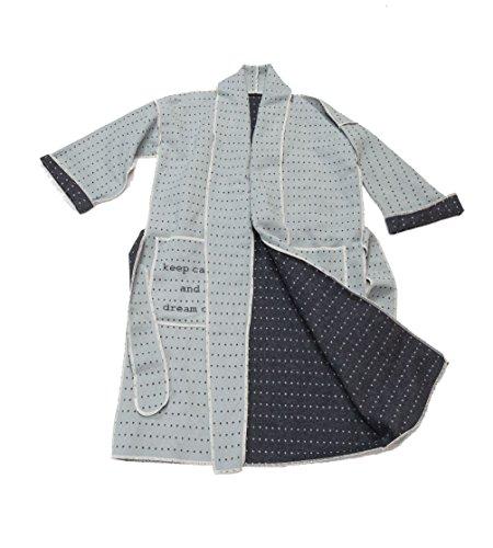 David Fussenegger Kimono L/XL keep calm, katoenmengweefsel, groen, 1 x 1 cm