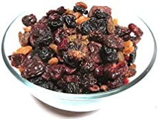 Premium Mixed Dried Berries, 3 LB (Blueberry, Cherry, Cranberry, Currant, Golden Raisin)