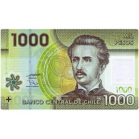 Arunrajsofia Chile 1000 Chilean Peso Polymer Note Amazon In Toys Games