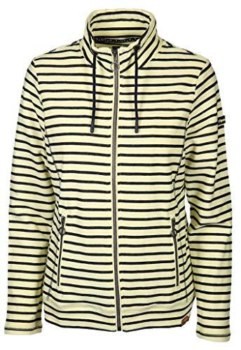 soquesto Damen Sweatjacke Größe XL Gelb (gelb)