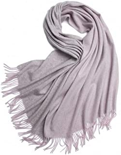XAZTY Scarves, Ladies' Scarves, Double-Sided Wool Scarf, Thick Warm/Large Shawl - 70×200CM