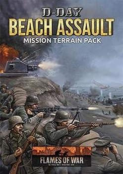 Flames of War  Late War  D-Day  Beach Assault Mission Terrain Pack FW262A