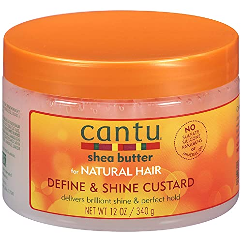 CANTU, Shea Butter for Natural Hair Define Shine Custard, 340g