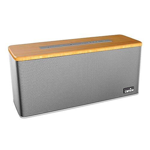 Enceinte Bluetooth 30W, COMISO Haut-Parleur Bluetooth 4.2 Speaker Portable sans Fil Stéréo avec...