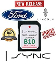 Ford Lincoln B10 SYNC SD Card Navigation 2019 US/Mexico Map Updates B9 B8