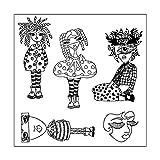 JAGETRADEマスクDIYシリコンクリアスタンプしがみつくシールスクラップブックエンボスアルバムの装飾