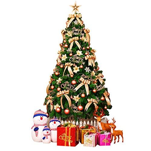 Arbol De Navidad Adornos artificiales de árboles de navidad DIRIGIÓ Luces Metal Soporte Plegable 8 Modos de flash para Decoración de Indoor de vacaciones Árbol de Navidad artificial Árbol de Navidad a