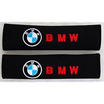 Hot Sale Leather Style Truck Car Seat belt Cover Shoulder Pads For BMW ////M Sport