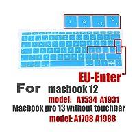 スペイン語EUシリコンキーボードプロテクターカバーFor MacBook用皮膚保護フィルム12インチプロ13カラフルなキーボードフィルムスペイン -L