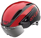 Giro Air Attack Shield Bike Helmet - Red/Black Small