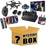 WEWQ Mystery Boxes Electronic Smart 3C Productos electrónicos Tienen la Oportunidad de Abrir: Auriculares Bluetooth Auriculares de Juego Relojes Inteligentes, etc. ¡Todos los Productos Son Posible!