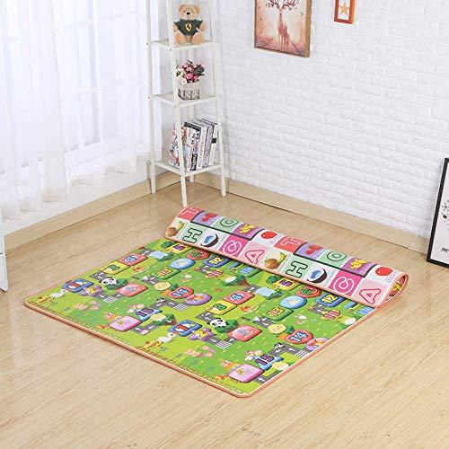 Spielteppich Straße Baby Spielmatte Spielzeug für Kinder Matte Teppich Kinder Entwicklung Matte Gummi Spielpuzzles Schaumteppiche